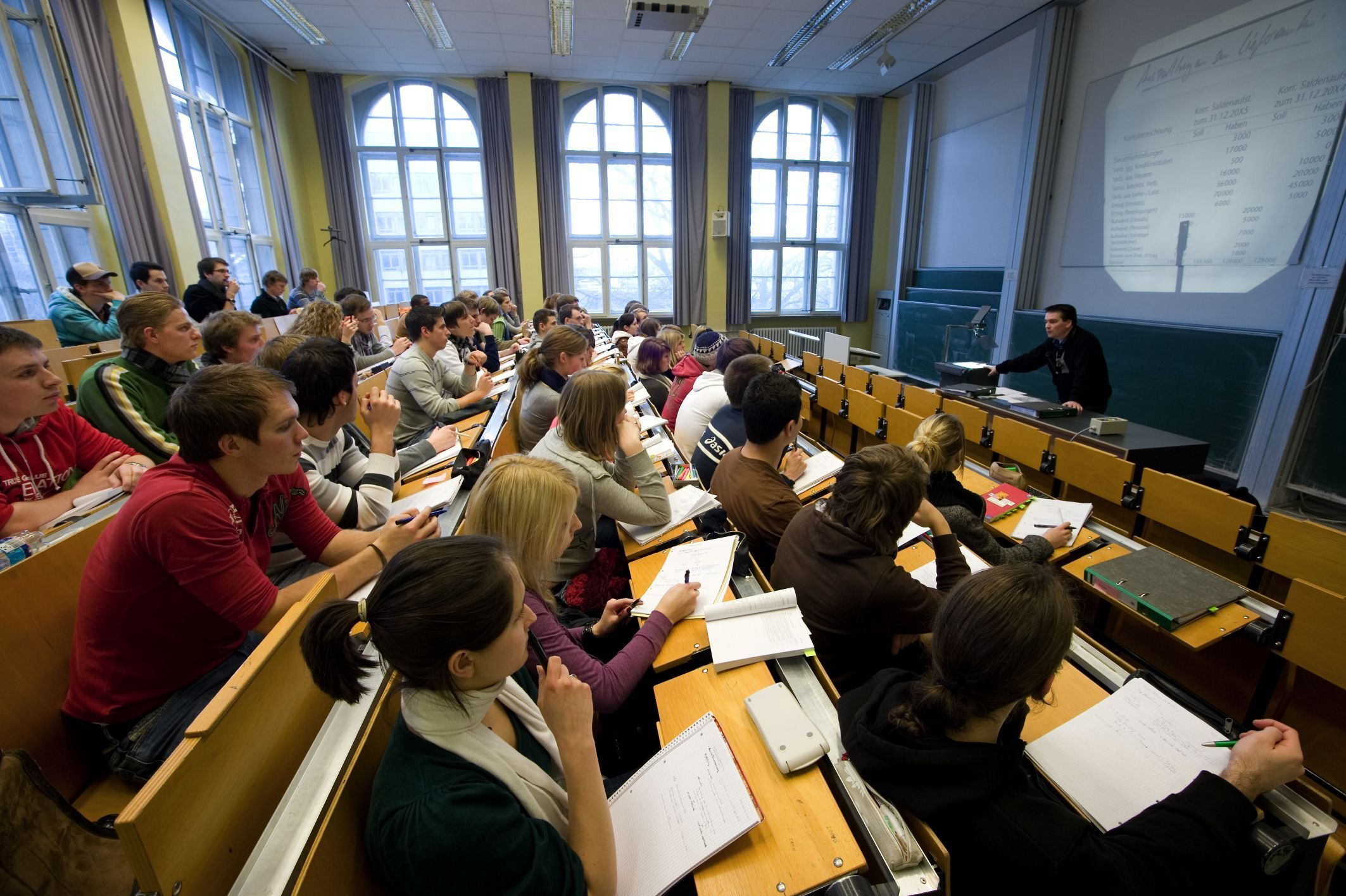 One of the Lecture Halls in the RWTH Main Building
