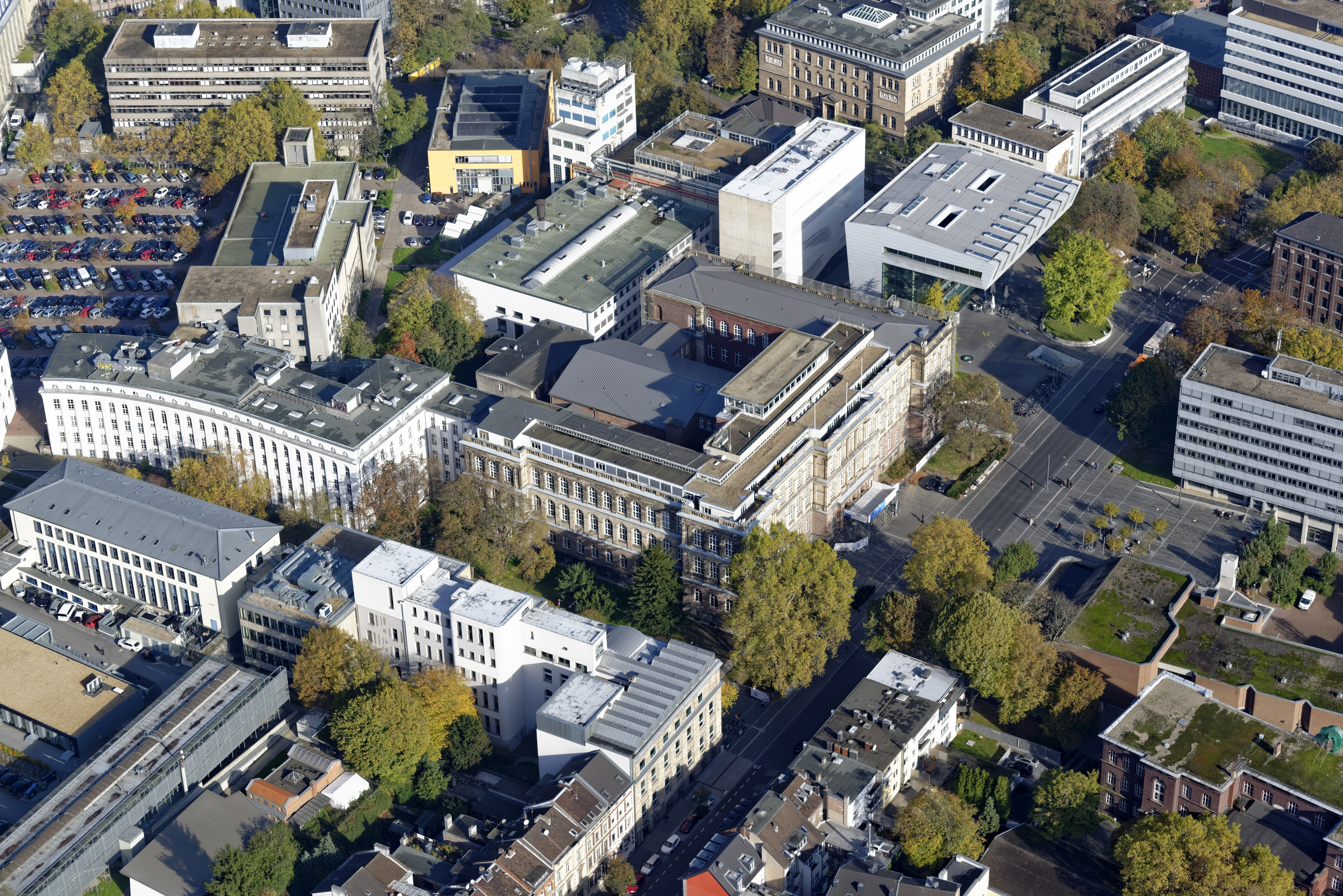 Main Campus with Hauptgebäude and SuperC