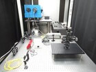 Optical setup, including high resolution spectrometer, continuous wave (CW) and femosecond Ti:Sapphire laser